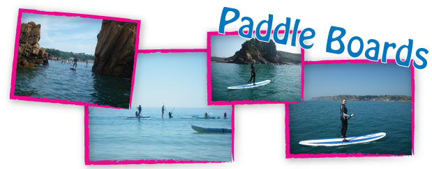 Paddle Boards for hire Jersey CI
