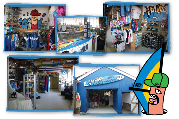 Jono Watersports shop
